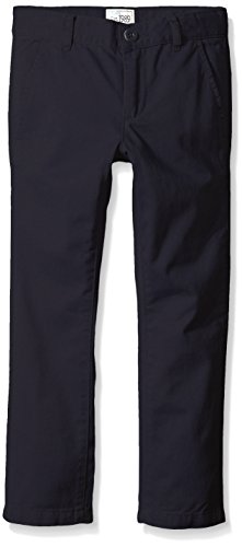 The Children's Place Little Boys' Skinny Chino Pants, New Navy, 6 (Boys School Uniforms Pants)