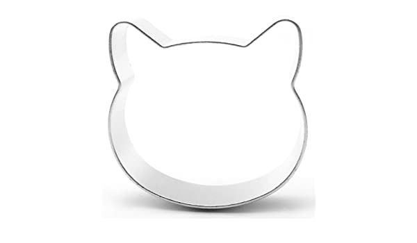 Amazon.com: Yolli Cat Head Cookie Cutter [Kitchen & Home]: Kitchen & Dining