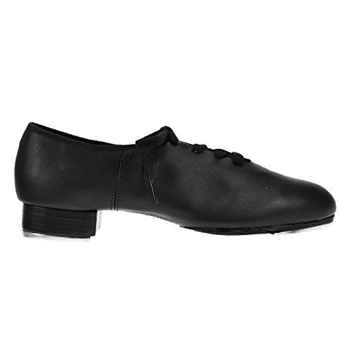 Capezio CG06 Nero Split Sole Tap scarpa Media Fit