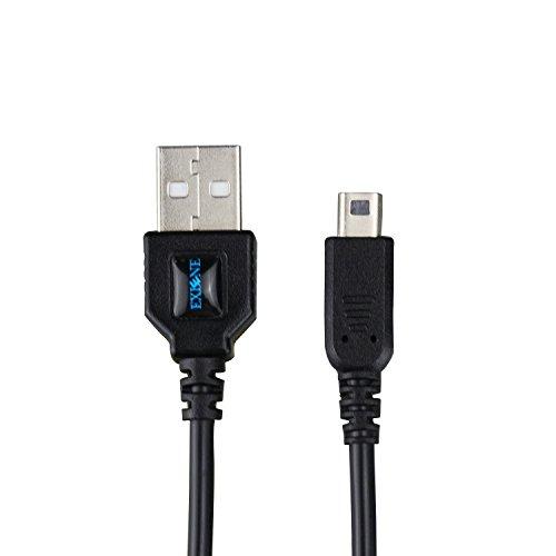 Exlene® Nintendo 3DS USB Power Ladekabel bei der Aufladung spielen für Nintendo 3DS, 3DS XL, 2DS, DSi, DSi XL -4ft / 1.2m (SCHWARZ)