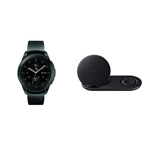 Samsung - Galaxy Watch Smartwatch 42mm Stainless Steel - Midnight Black