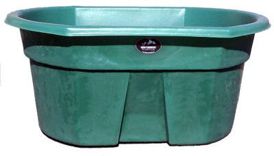 High Country Plastics 155 Gallon Water Tank, Forest Green, Forrest Green by High Country Plastics