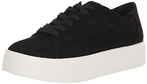 Dr. Scholl's Shoes Women's Kinney Lace Oxford, Black Cool Microfiber, 11 M US