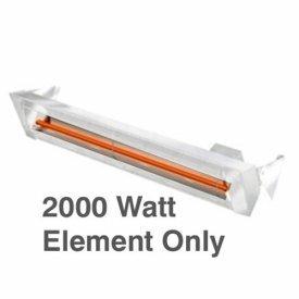 Infratech E2024 Accessory - 2000 Watt Heating Element for W2024, 240 Volt (Infratech Heating)