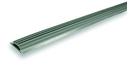 WJ Dennis & Company 150 Aluminum & Finned Vinyl Threshold, 1 1/4-Inch x 1/2-Inch x 36 1/2-Inch, Aluminum