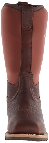 Weather Oiled Men's Steel Boot Cowboy Brown Toe Ariat Western All Hybrid zaqxqH6t