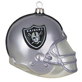 "Oakland Raiders 3"" Helmet Ornament"