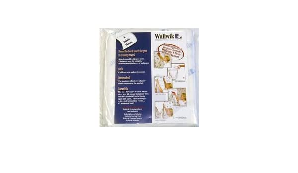 Simple Strip HydroSheets For Wallpaper Removal Wallwik 65340
