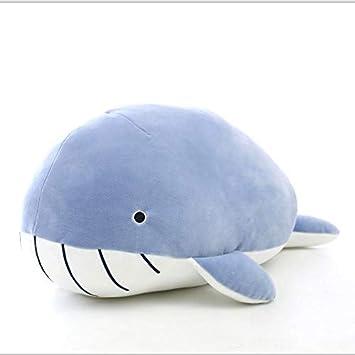 Amazon.com: GOOGEE - Peluche de ballena y tiburón de Kawaii ...