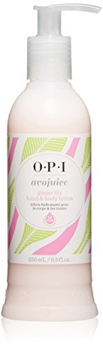 OPI Avojuice Hand Lotion, Ginger Lily, 8.5 fl. oz.