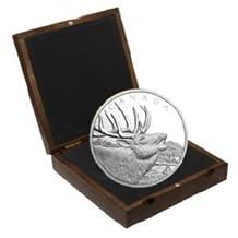 2017 $125 Fine Silver Collectible Coin : Elk