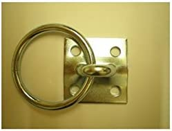 STS Economy Tie Ring With Plate hanging hay nets horse pony equestrian