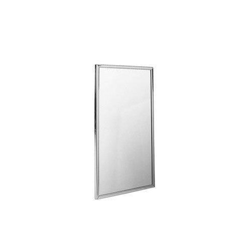Bradley 781-018360 Roll-Formed Channel Frame Float Glass Mirror, 18