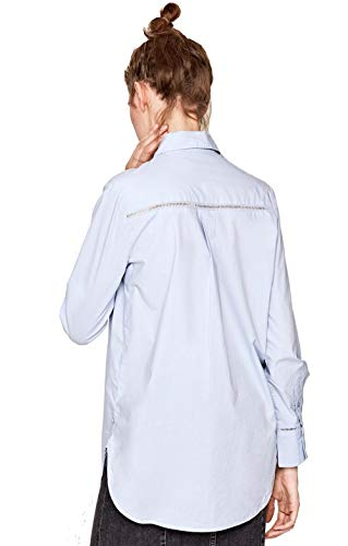 Camisa Blue Jeans Grazia Mujer 501 Blanca Lt Pepe PA5HaqwxA