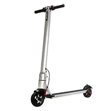 Patinete de 2 ruedas, eléctrico, plegable, de aleación de ...
