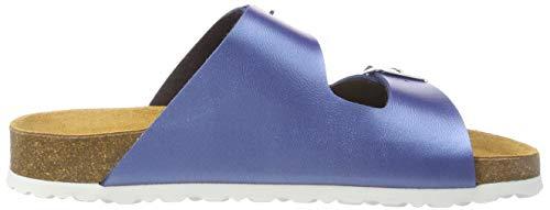 Blau Blau Blu Donna Bioline Ciabatte Shiny Lico wXF8qYO