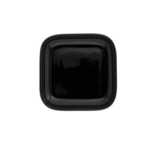 KAHLA Abra Cadabra Small Lid Angular 4 by 4 Inches, Black Color, 1 Piece