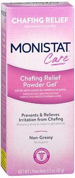 Monistat Care Chafing Relief Powder Gel - 1.5 oz, Pack of 5 by MONISTAT