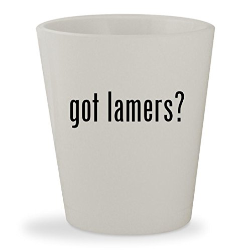 got lamers? - White Ceramic 1.5oz Shot (Fiesta Sun Spf 30 Lip Balm)