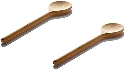 Lares Kit de p/âtisserie pour enfant en bois avec rev/êtement anti-adh/ésif 2 cuill/ères pour enfants.