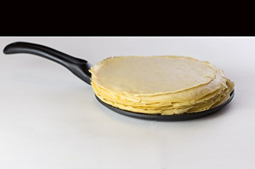 - Induction Crepe and Pancake Pan Non-Stick 8.7 Inch. Batter Spreader Included