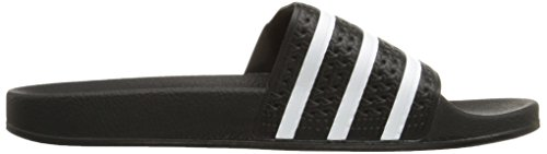 adidas Black Black Originals Core Adilette Slides Slip On Men's Core White waBqprw