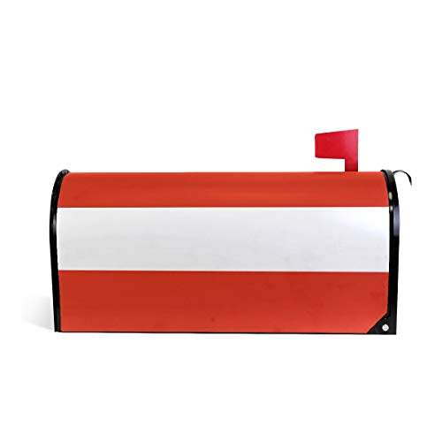 - Printedin3D Austria Flag Magnetic Mailbox Cover for US Large Size