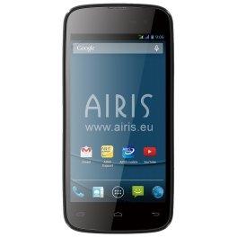 Airis-TM45Q-4GB-Negro-Smartphone-SIM-doble-Android-GSM-Micro-USB-Concha-ARM
