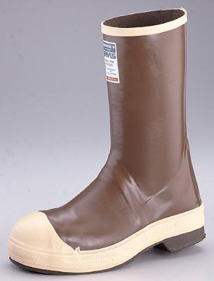 Midcalf Boots, Men, 10, Steel Toe, Brn, 1PR