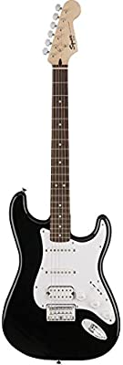 Squier by Fender Bullet Stratocaster Electric Guitar - HSS - Hard Tail - Rosewood Fingerboard