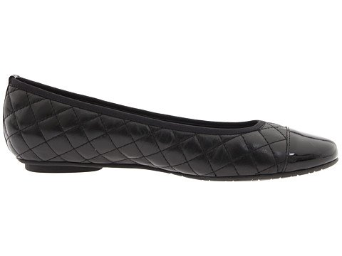 VANELi 9.5 Womens Serene Flat B00EXACTHK 9.5 VANELi XW US|Black Nappa/Black Patent 6cea3b