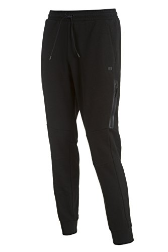 Layer 8 Men's Tech Knit 2.0 Jogger Sweat Pant (Large, Black)