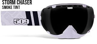 509 Aviator Storm Chaser Goggle with Smoked Tint - Aviator Goggles For Men