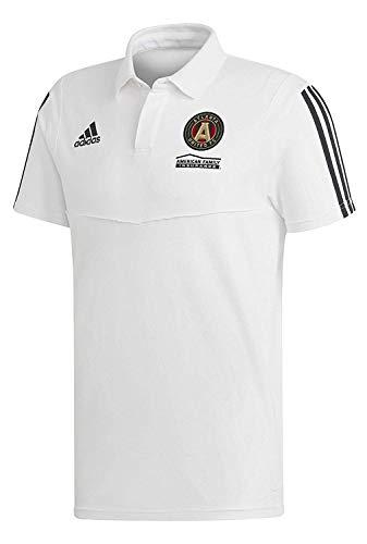 - adidas Atlanta United FC Coaches Polo-White-M