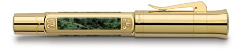GRAF von Faber-Castell Pen of The Year 2015 M Special Limited Edition Fountain Pen - Gold