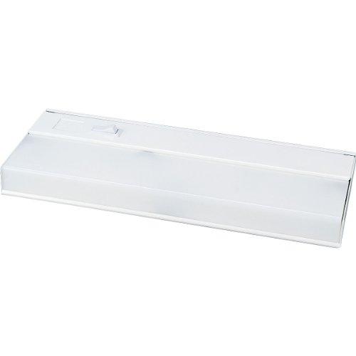 Progress Lighting P7011-30 White Acrylic Diffuser and White Baked Enamel Housing For Standard 120 Volt Normal Power Factor Ballast, White (30 White Acrylic Diffuser)