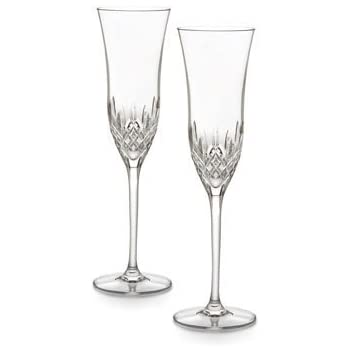 waterford forever set of 2 champagne flutes. Black Bedroom Furniture Sets. Home Design Ideas
