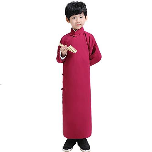 Vêtements 175cm Xiangsheng Taille Rouge Vin Chenyang86 couleur Costume Allegro Rouge National Service EwgqvX