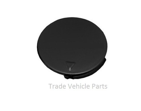 Trade Vehicle Parts FD1631 Front Bumper Towing Eye Cover Cap Primed Generic