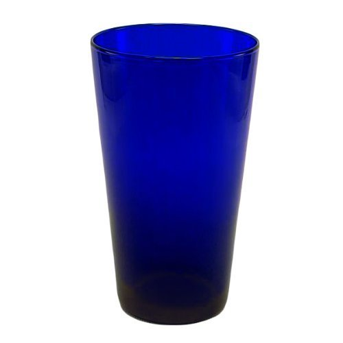 - 4 Pack - 17 oz. Cobalt Blue Cooler - Standard Glassware