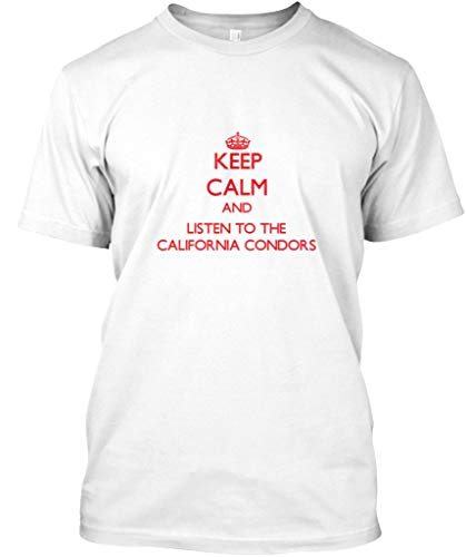 Keep Calm and Listen to The California. 2XL - White Premium Tee - Premium Tee -