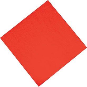 Fasana Professional Tissue Napkin Red Qty 1000 3-ply 'dinner' Sz. 400mm