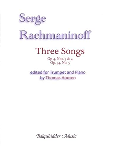 Amazon com: Three Songs (for B flat Trumpet) (9780825893322