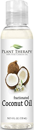 Coconut (Fractionated) 4 oz Carrier Oil. A Base Oil for Aromatherapy, Essential Oil or Massage use.