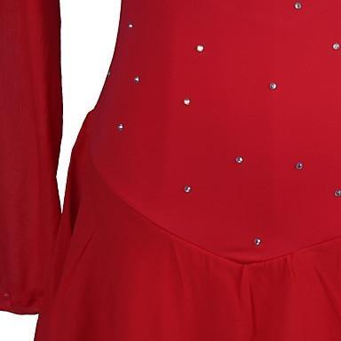 Y Patinaje Azul Color Rojo Niña Zhangminzl Vestido De Mujer Oscuro Para PxXSqw