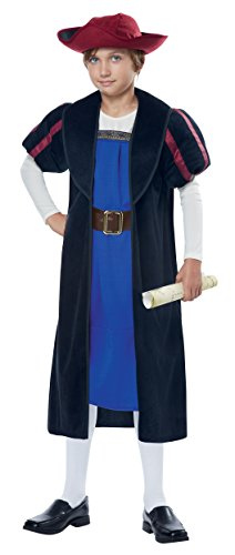 California Costumes Christopher Columbus/Explorer Costume, Large, -