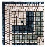 "Bars & Boxes Marble Mosaic Corner [4 Pcs. per Case] (6""x6"") -"