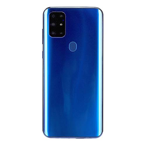 """S20 Unlocked Smartphone, Cell Phone with Dual SIM Card Slot, 4 Core Cell Phone, 6.7"""" HD Screen, 128G Memory Card, 8MP + 13MP Cameras, Android Mobile Phone(Blue)"""
