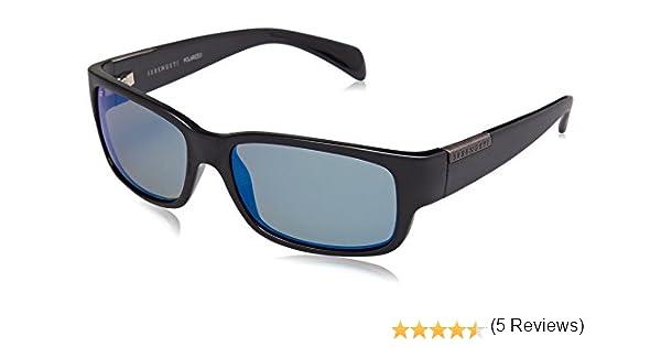 SERENGETI - Modelo Merano, Gafas de Sol de Color Negro Satinado ...