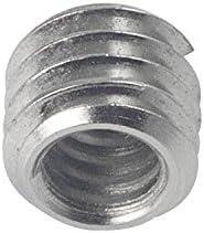 MENGS 4Pcs SR-52 1//4 To 3//8 Convert Screw Thread Adapter For Tripod Monopod Head Ball Camera Quick Release Plate /Ø9mm X H8mm